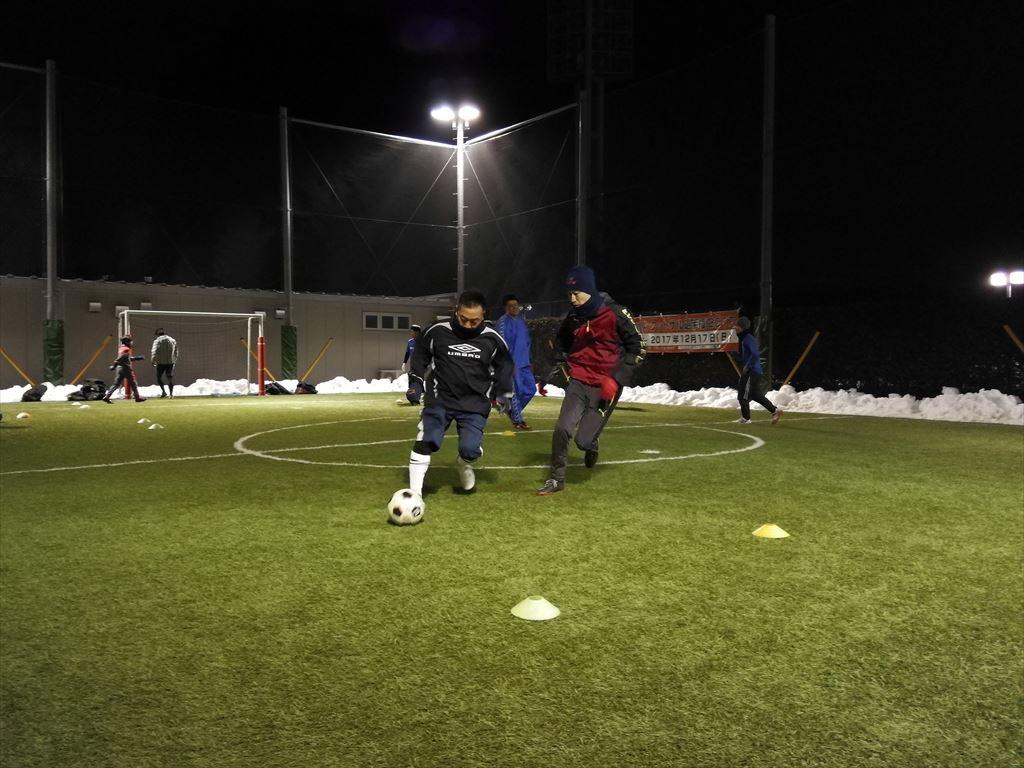 西が丘大人サッカー教室 2018年2月の活動スケジュール