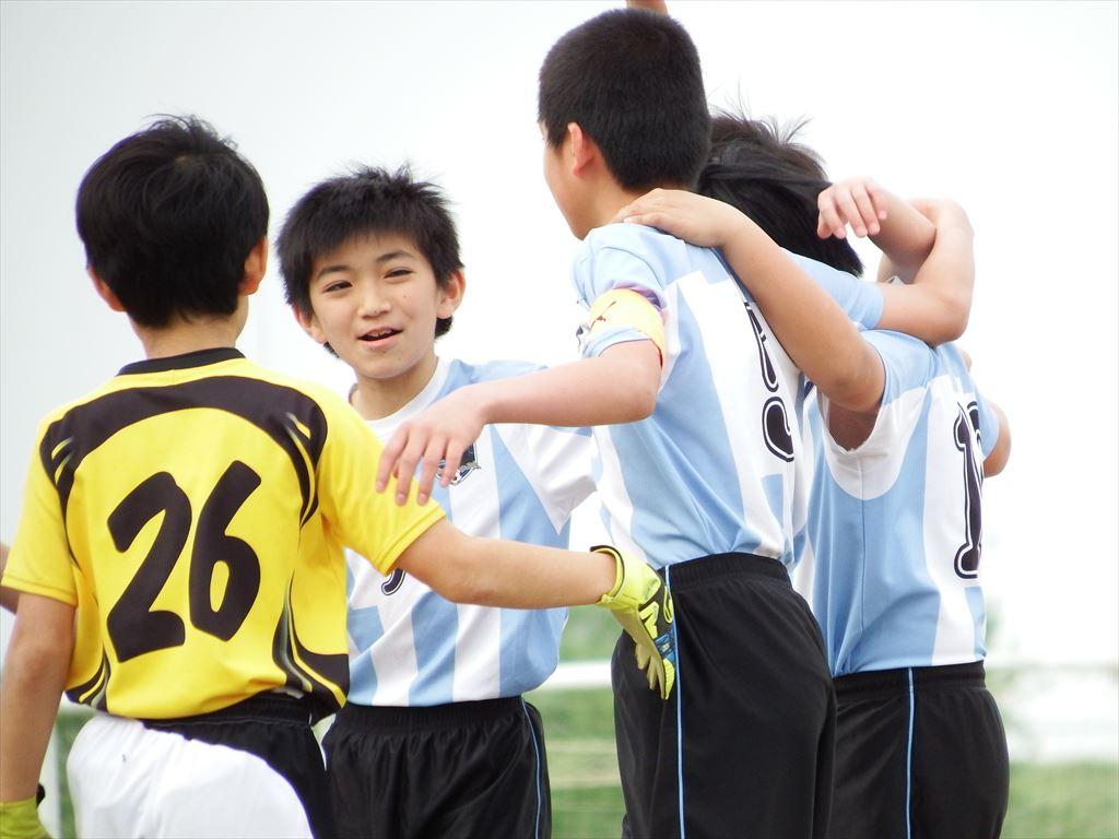 六年生大会 緊張の一試合