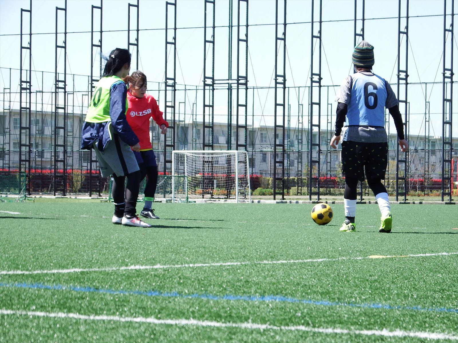 西が丘レディースサッカー教室 2019年5月の活動スケジュール