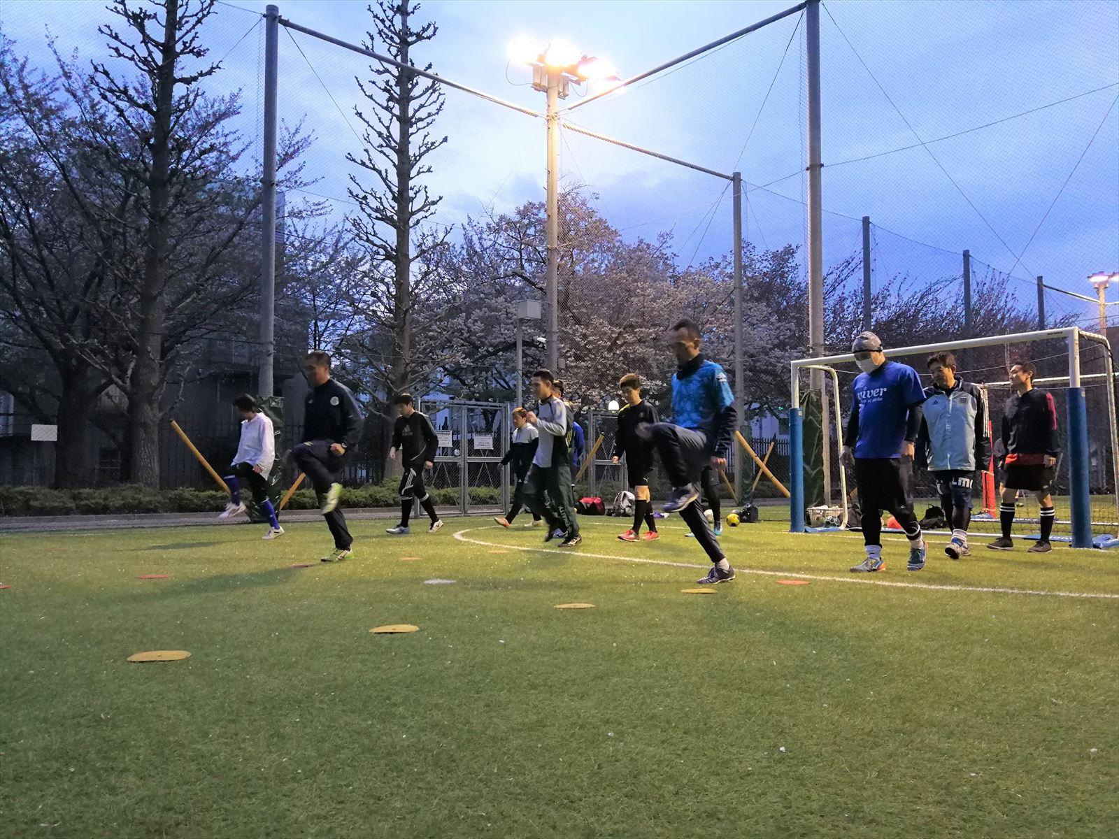 西が丘大人サッカー教室 2019年5月の活動スケジュール