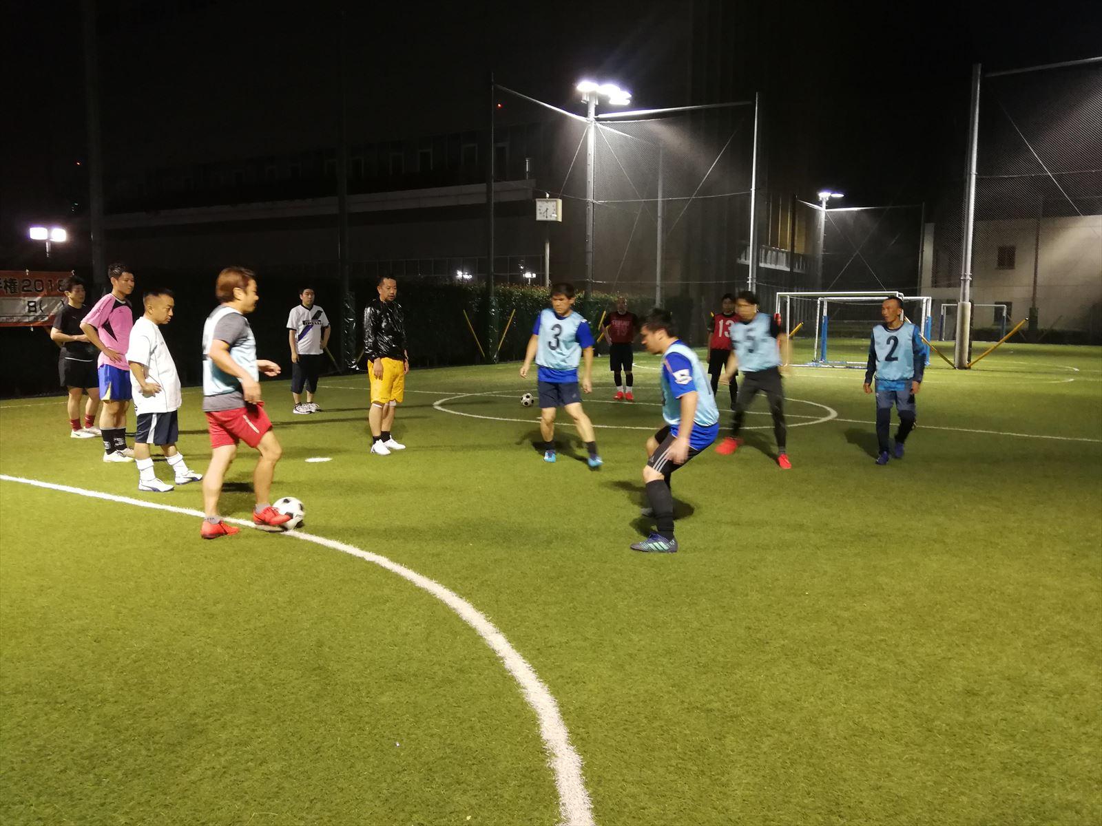 西が丘大人サッカー教室 2019年9月の活動スケジュール