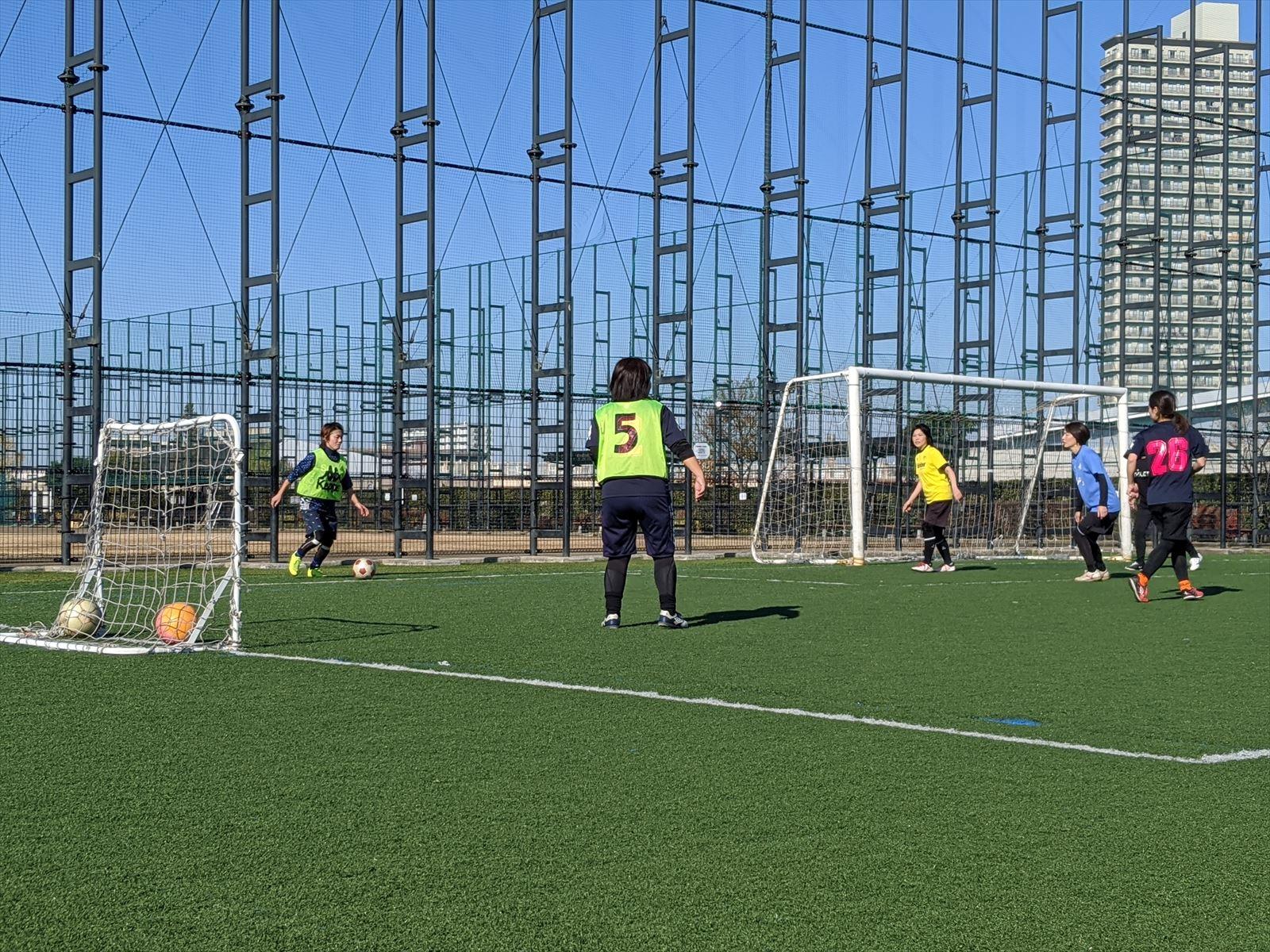 西が丘レディースサッカー教室 2020年2月の活動スケジュール