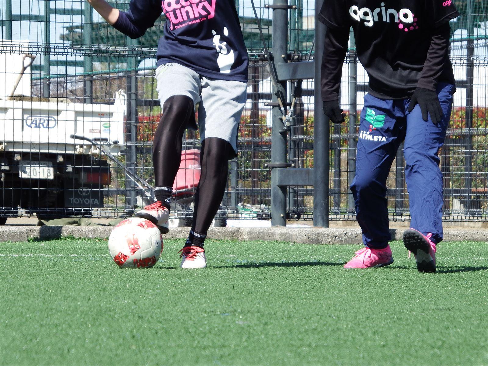 西が丘レディースサッカー教室 2020年4月の活動スケジュール