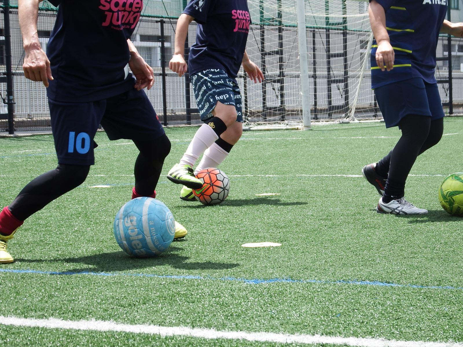 西が丘レディースサッカー教室 2020年7月の活動スケジュール