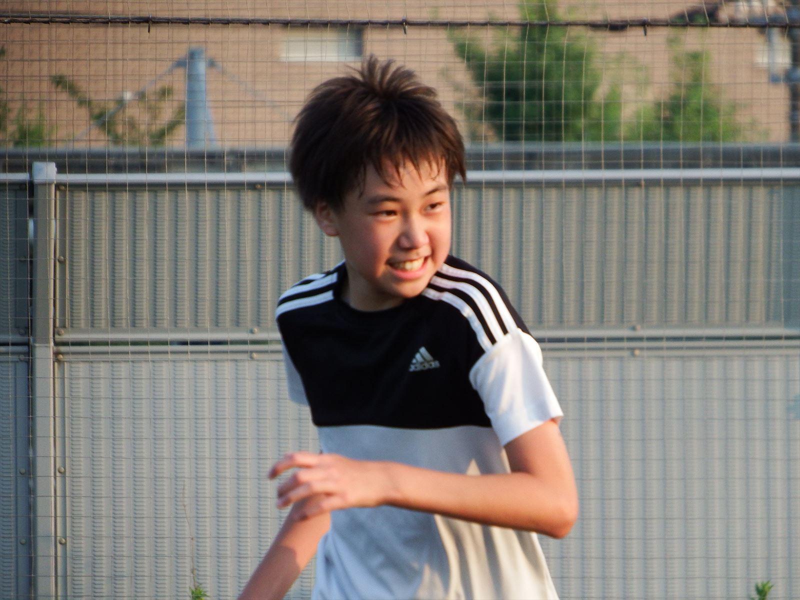木曜日クラスの練習 暑くても走る!