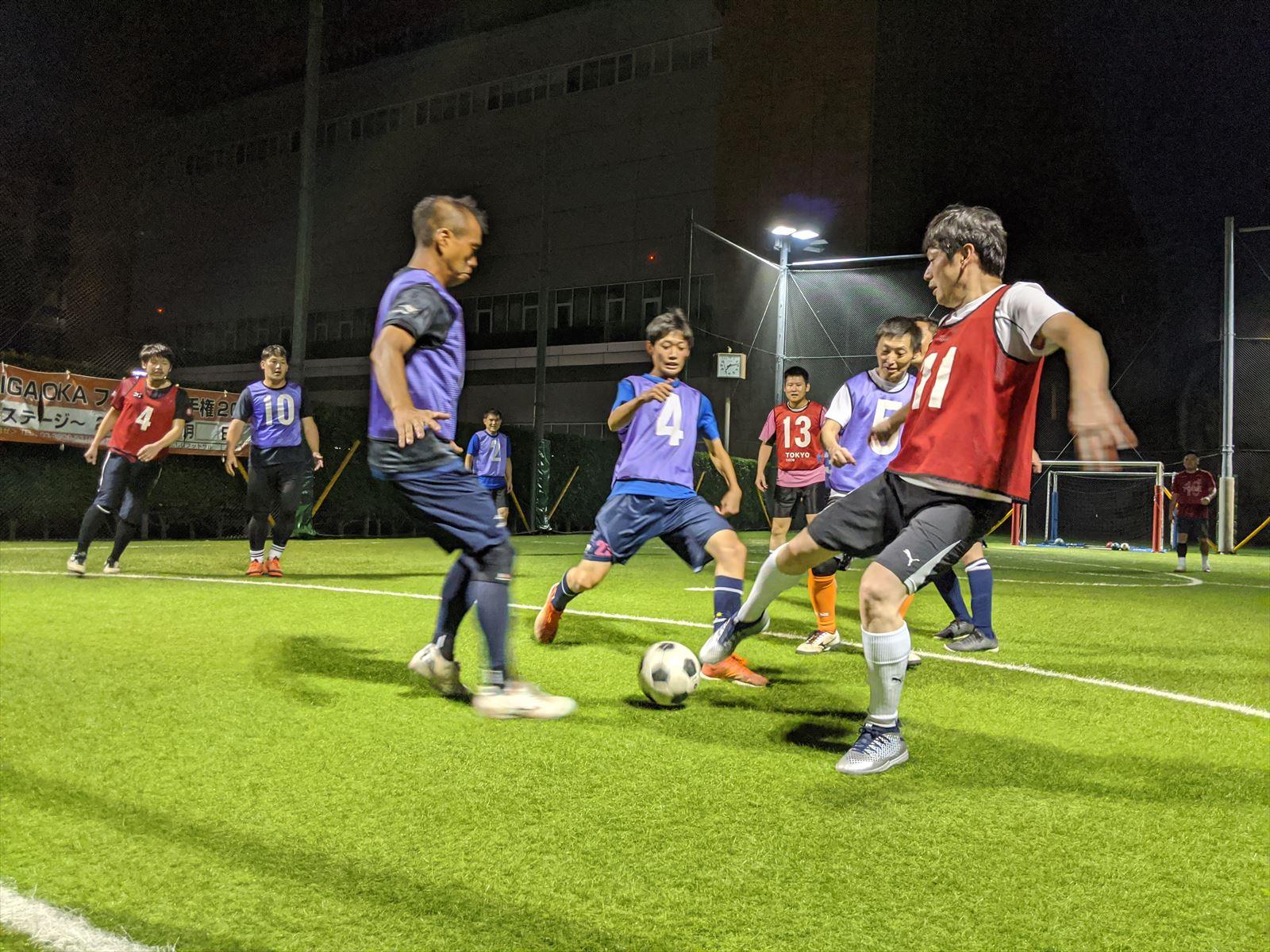 西が丘大人サッカー教室 2020年11月の活動スケジュール