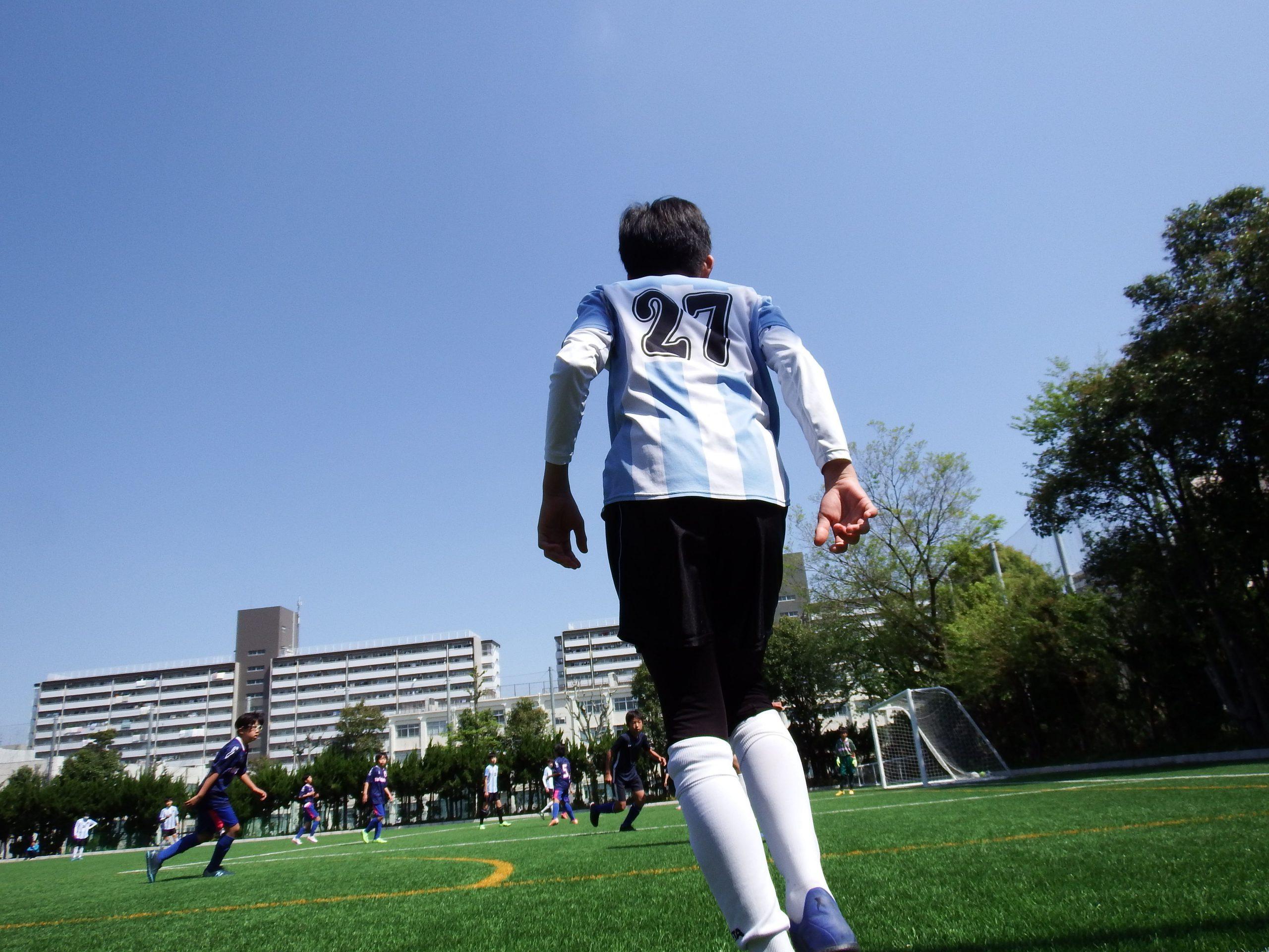 今後が楽しみでしょうがない練習試合でした 西が丘サッカークラブジュニアユース